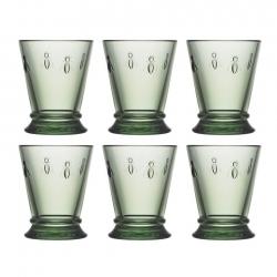 La Rochère Abeille Glas 6 stk 0,18L Grøn