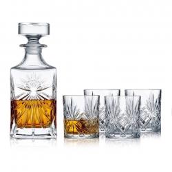 Lyngby Melodia Whiskysæt Krystal - 5 dele