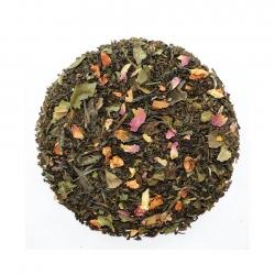 Chaplon Hvid og Grøn Te m. Kvæde Refill 700g