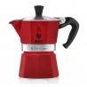 Bialetti Moka Express 6 kop Rød Espressokande