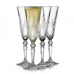 Lyngby Melodia Champagneglas 4 stk