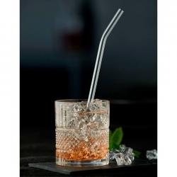Lyngby Sugerør 21,5cm Glas - 6 stk