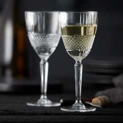 Lyngby Brillante Hvidvinsglas 4 stk 23cl