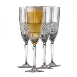 Lyngby Brillante Champagneglas 4 stk 19cl