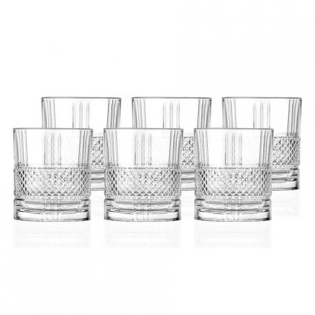 Lyngby Brillante Whiskyglas 6 stk 34cl