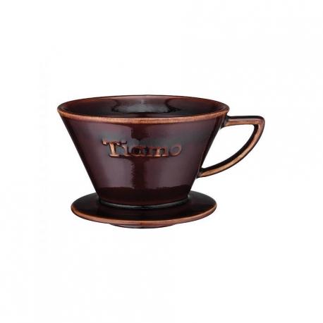 Espresso Gear Tiamo Dripper m. flad bund, brun