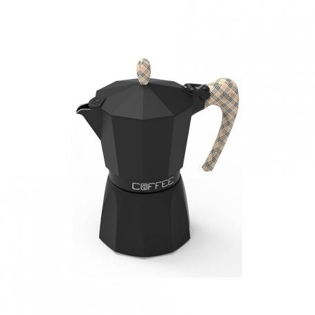 G.A.T Fashion Burberry Espressokande Sort 3 kops