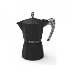 G.A.T Fashion Pied De Poul Espressokande Sort 3 kops