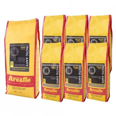 Arcaffe Rigtig Kaffe Mixpakke 4kg