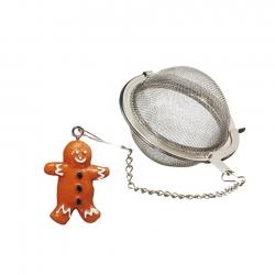 Tesi i Kæde med Kagemand-Figur