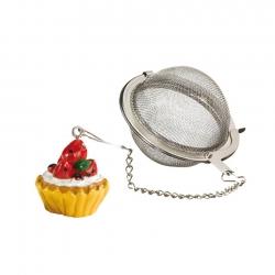 Tesi i Kæde med Cupcake-Figur