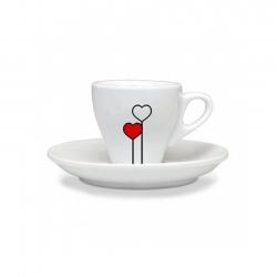 Ascaso Love Espressokopper 6 stk