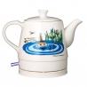 Moomin Keramik Elkedel 0,8L Hvid Lille-My Sø Motiv