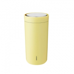 Stelton To Go Click Steel - 0,4L Soft Yellow