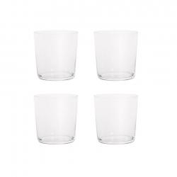 Aida RAW Vandglas 4 stk 0,37L Klar