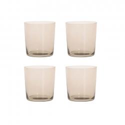 Aida RAW Vandglas 4 stk 0,37L Smoke