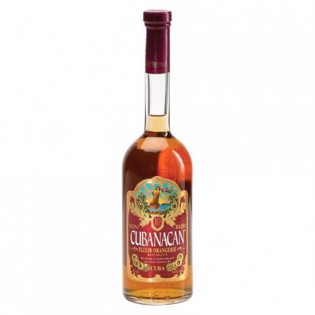 Cubanacan Elixir Orangerie 10 Años