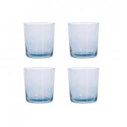 Aida RAW Vandglas 4 stk 0,37L Blå