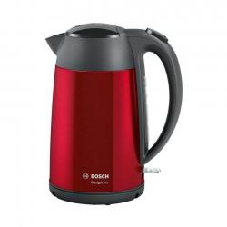 Bosch Elkedel TWK3P424 DesignLine 1.7L Rød