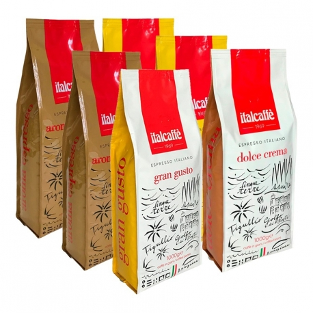 ItalCaffè Mixpakke 6kg