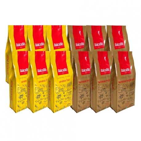 ItalCaffè Aroma Mixpakke 12 kg