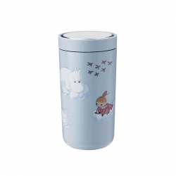 Stelton To Go Click - 0,2 L Moomin Soft Cloud