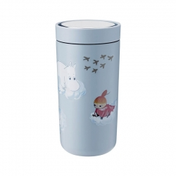 Stelton To Go Click - 0,4 L Moomin Soft Cloud