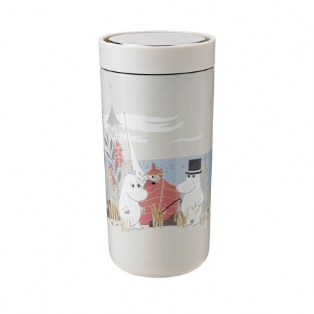 Stelton To Go Click - 0,4 L Moomin Soft Sand