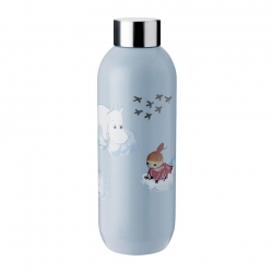 Stelton Keep Cool Vandflaske 0,75L - Moomin Cloud