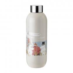 Stelton Keep Cool Vandflaske 0,75L - Moomin Sand