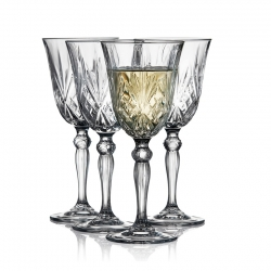 Lyngby Melodia Hvidvinsglas 4 stk