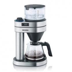 Severin Caprice KA5760 Kaffemaskine Stål/Sort