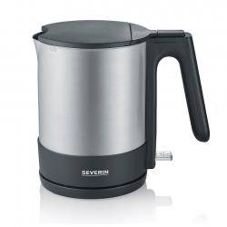Severin Elkedel 1,7 liter Stål/Sort