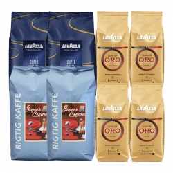 Lavazza & Rigtig Kaffe Mixpakke 6kg