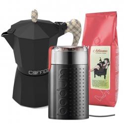 G.A.T Fashion Burberry Espressokande Inkl. Kværn & Kaffe