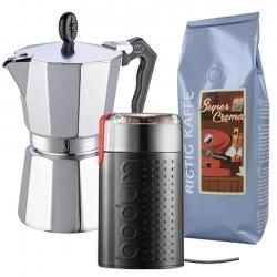 G.A.T Lady Oro Espressokande Inkl. Kværn & Kaffe