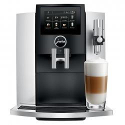 Jura S8 (EA) Moonlight Silver Espressomaskine