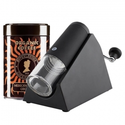 CrushGrind Brazil Kaffekværn Inkl. Østerlandsk Økologisk Mexican Altura