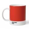 Pantone Kaffekrus 0,37L Rød