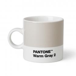 Pantone Espressokrus 0,12L Lysegrå