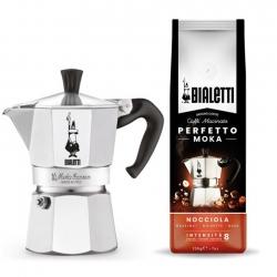 Bialetti Moka Express 6 Kop Kaffesæt