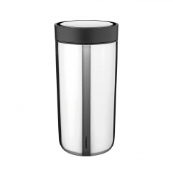 Stelton To Go Click Steel - 0,4L Stål