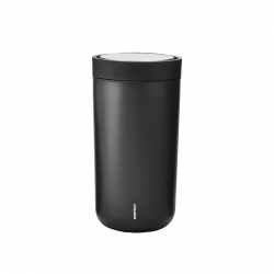 Stelton To Go Click Steel - 0,2L Sort