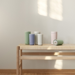 Stelton To Go Click Steel - 0,4L Lysegrå