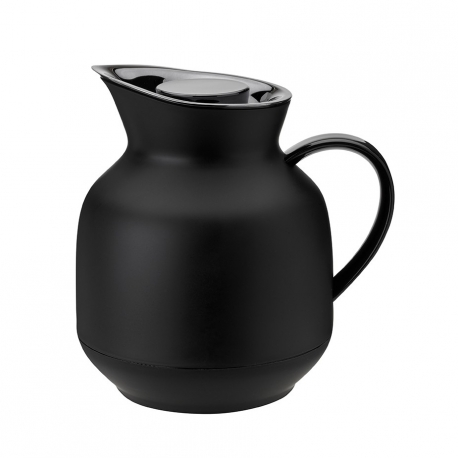 Stelton Amphora Termokande 1L Sort