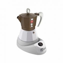 G.A.T Golosa Elektrisk Espressokande Brun/Hvid 4 kops