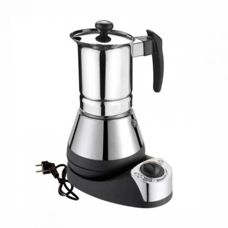 G.A.T Nova Elektrisk Espressokande Stål/Sort 4 kops