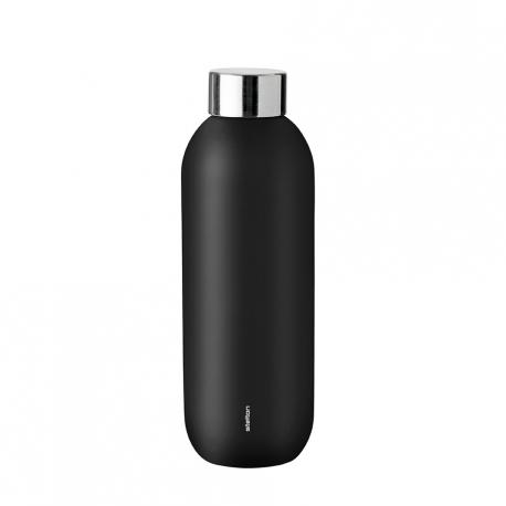 Stelton Keep Cool Termoflaske 0,6L Sort