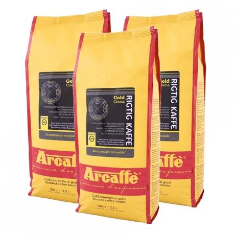 Arcaffe Rigtig Kaffe Gold Crema 3kg