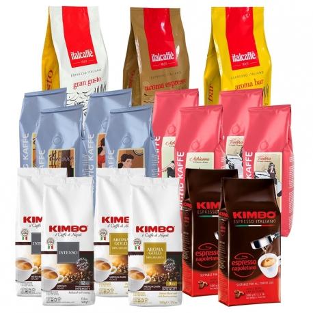 Italiensk Kaffepakke 10kg